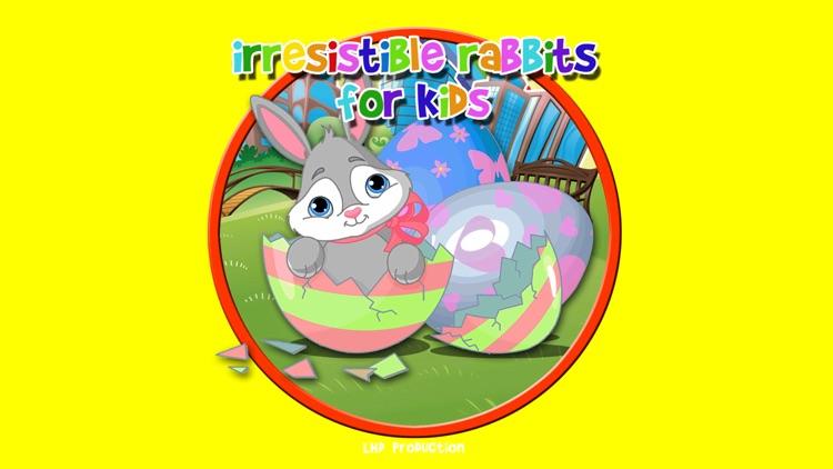 irresistible rabbits for kids - free screenshot-0