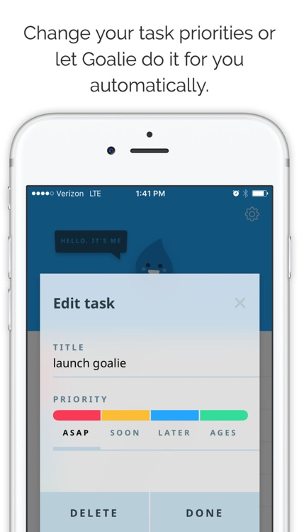 Goalie Free – Your Pal and To Do List Task App screenshot-4