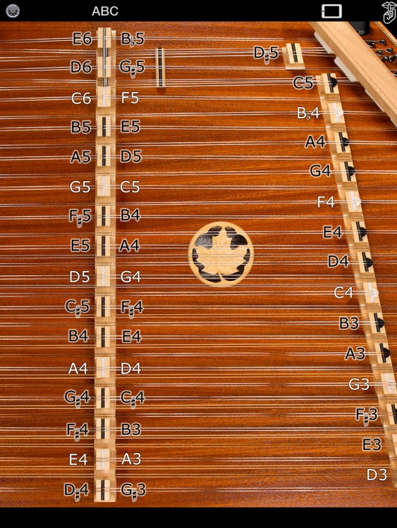 D550 MIDI - Hammered Dulcimer MIDI Controller - Dusty Strings Edition