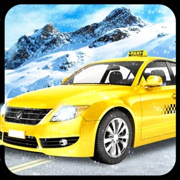 Taxi Driving Simulator 3D: Snow Hill Mountain & Free Mobile Game 2016