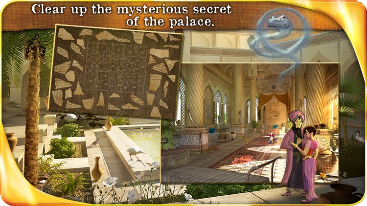 Aladin and the Enchanted Lamp (FULL) - Extended Edition - A Hidden Object Adventure screenshot-4