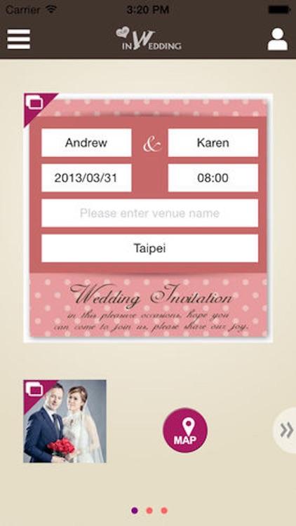 inWedding新人 for iPhone