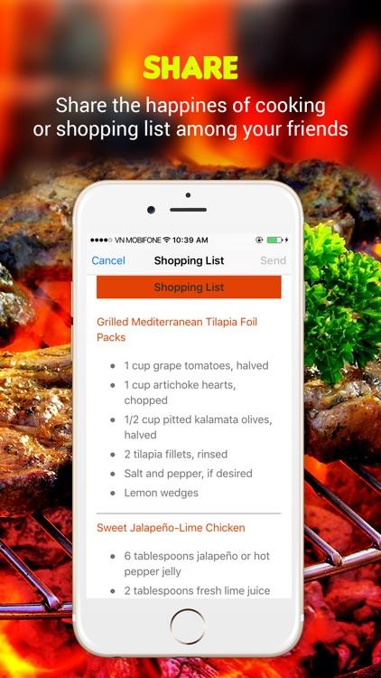 Grilling Recipes Pro screenshot-4