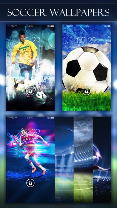 Soccer Wallpapers & Backgrounds HD - Home Screen Maker with True Themes of Football-2