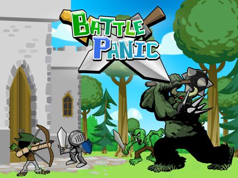 Battle Panic iPad app afbeelding 5