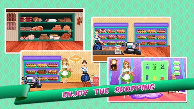shopping mädchen spiele