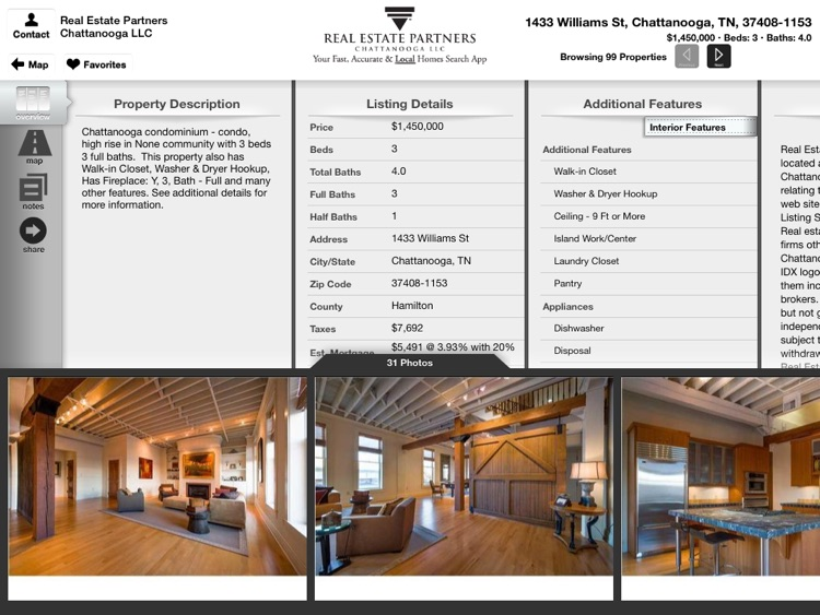 Chattanooga Homes for Sale for iPad screenshot-2