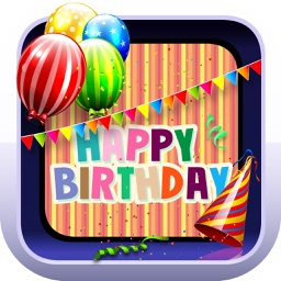 Happy Birthday Card Creator – Best Greeting e.Cards and Invitation.s Maker for your Bday Party