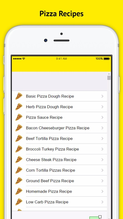 Pizza Recipe - Open your cooking app and learn how to make a pizza screenshot-3