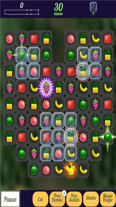 Happy Fruit Match Three