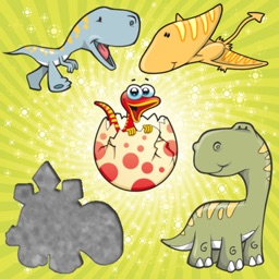 Dinosaurs Puzzles for Toddlers and Kids : Discover the Dino World ! Educational Puzzle Games !