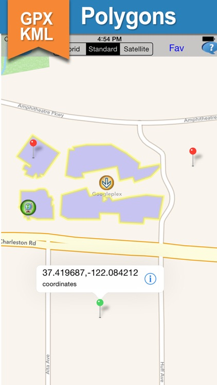 GPX KML KMZ Viewer and Converter on gps map screenshot-4