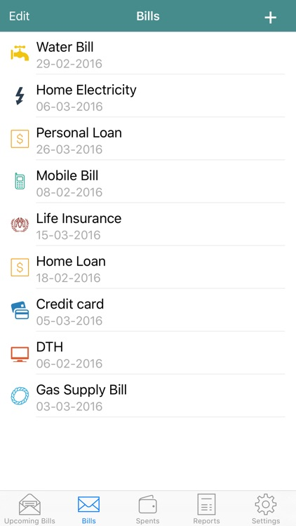 Bill Logger - Track Bills and Expenses