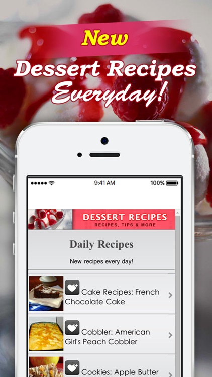 Dessert Recipes!