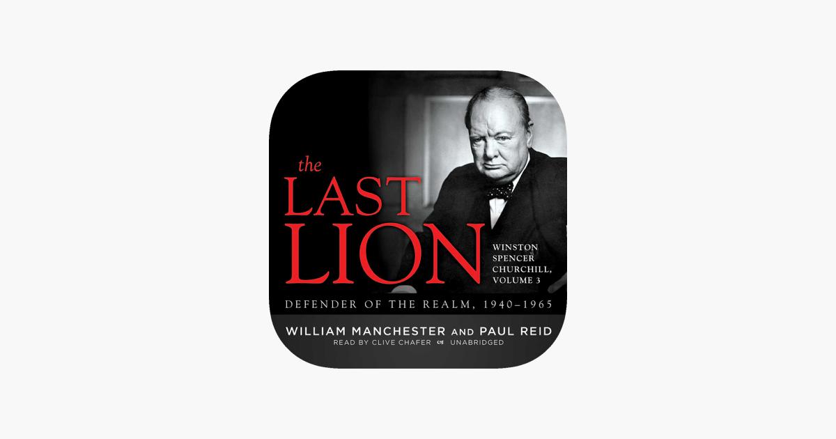 The Last Lion Winston Spencer Churchill Vol 3 Audio