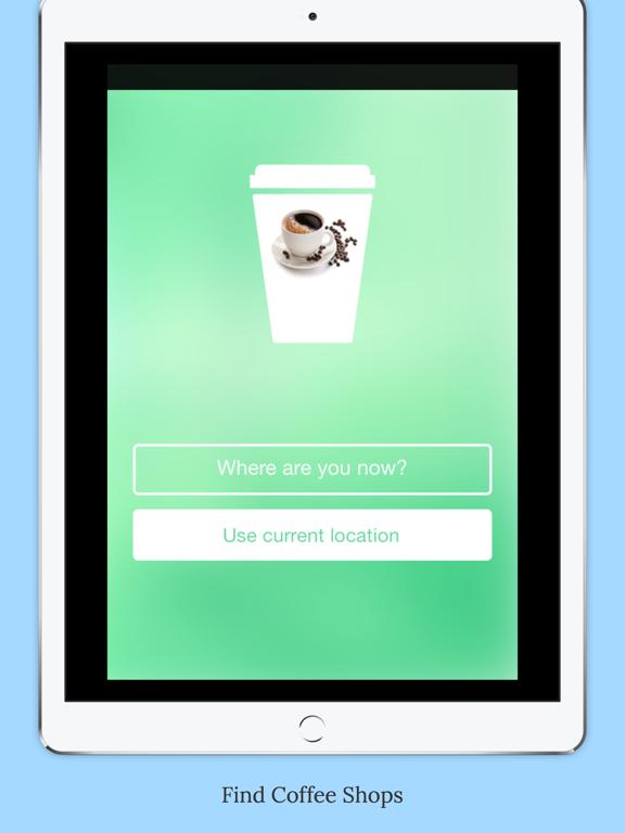 CoffeeFindNearby Screenshots