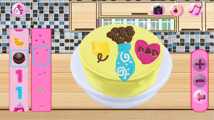 Cream Cake Maker:Cooking Games For Kids-Juice,Cookie,Pie,Cupcakes,Smoothie and Turkey & Candy Bakery Story!