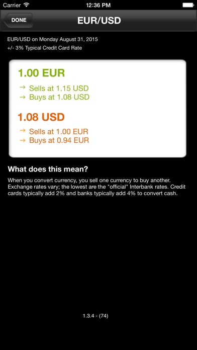 Currency Converter iPhone