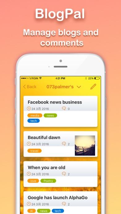 BlogPal for Blogger screenshot1
