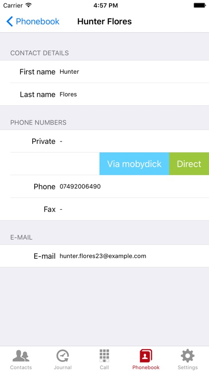 MobyDick Mobility Client