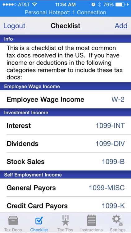 Tax Docs screenshot-3