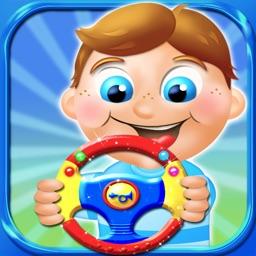 Kids Steering Wheels - Interactive Virtual Toy HD