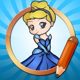 Drawing Tutorials Princess Cinderella Version
