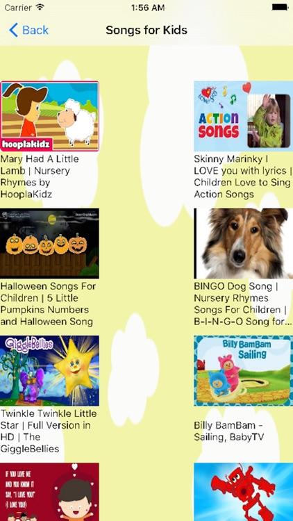 Kids Songs(English song for children) screenshot-3