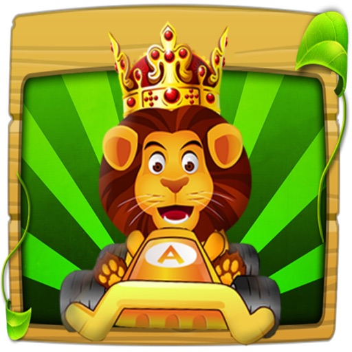 Jungle Racing:Amazing Pet Car iOS App
