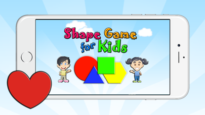 English Vocabulary Learning Shape Games For Kids screenshot one