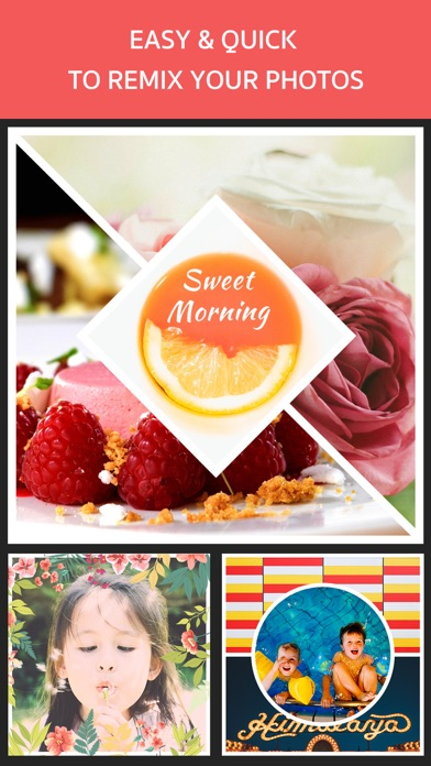 Photo Frame Editor – Pic Collage Maker Freeのおすすめ画像1