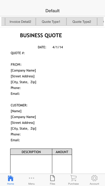 Invoice and Quote screenshot-2
