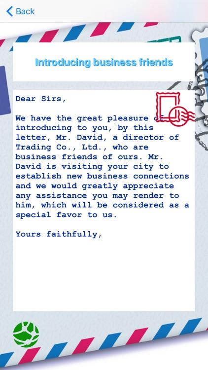 Business Letters screenshot-3