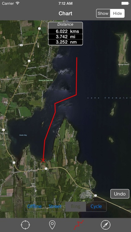 Lake Champlain – Raster Nautical Charts