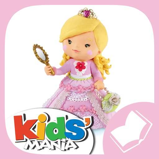 Tess plays at being a princess - Little Girl