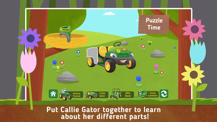 Johnny Tractor and Friends: Growing Season screenshot-3