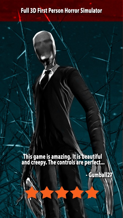 Slender Man - Chapter 1: Alone Free screenshot-0