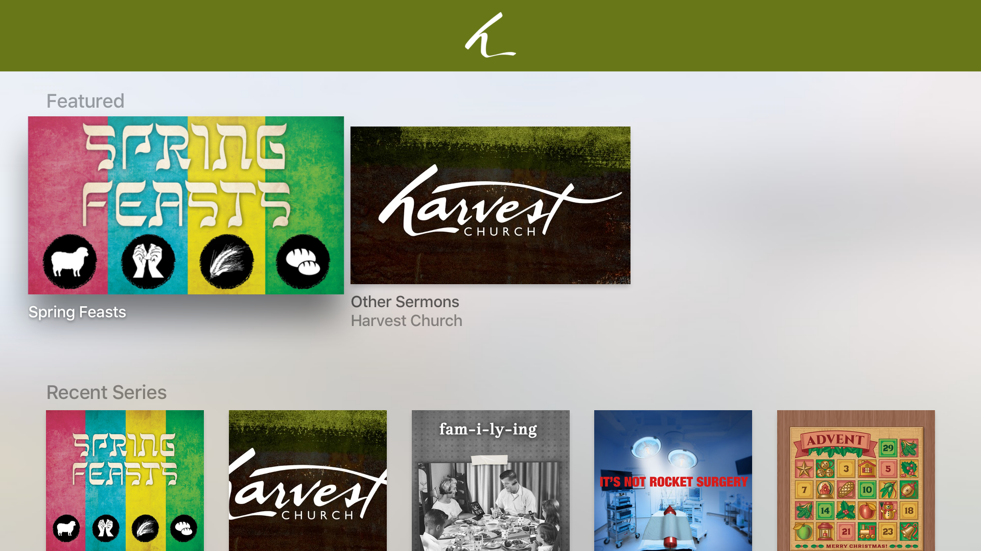 Harvest Church App screenshot 7