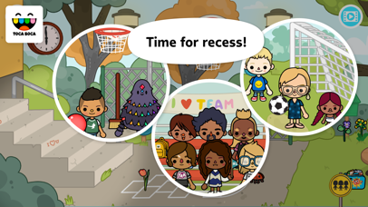 download Toca Life: School apps 1