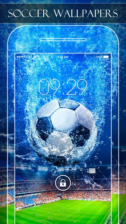 Soccer Wallpapers Backgrounds Pro Home Screen Maker With True Themes Of Football By Pei Peng