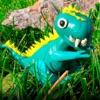 Динозавры - Детская энциклопедия. Раскраски для детей. Звуки животных. - iPadアプリ