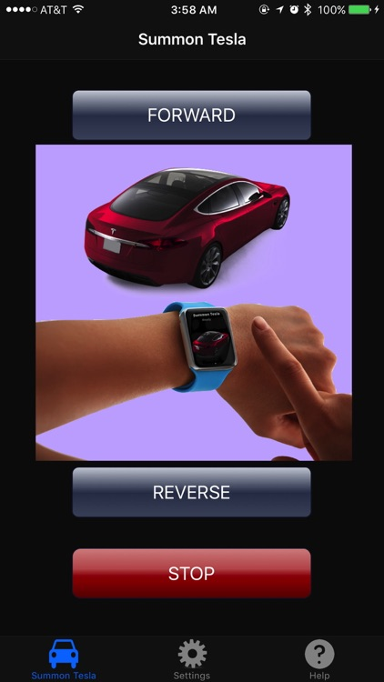 Summon Tesla - for Apple Watch