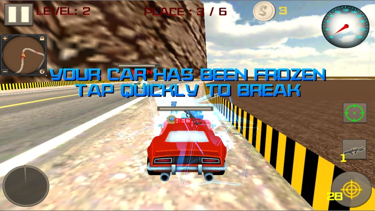 Super Armored Car Racing