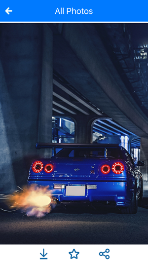 Hd Car Wallpapers Nissan Skyline Gtr Edition On The App