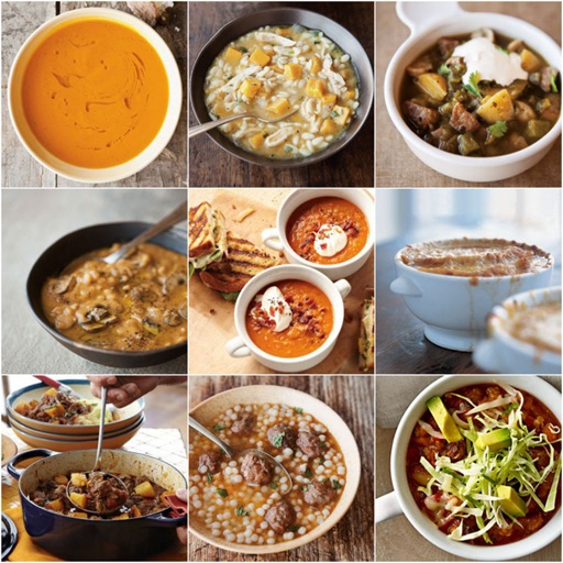 Soups and Stews Cookbook: Winter Dinner Tips and Tutorial icon