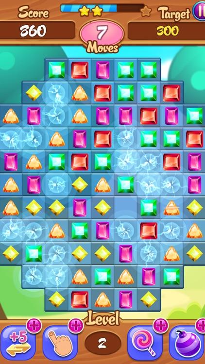 Diamond Crystal Crush Match 3 Gem HD
