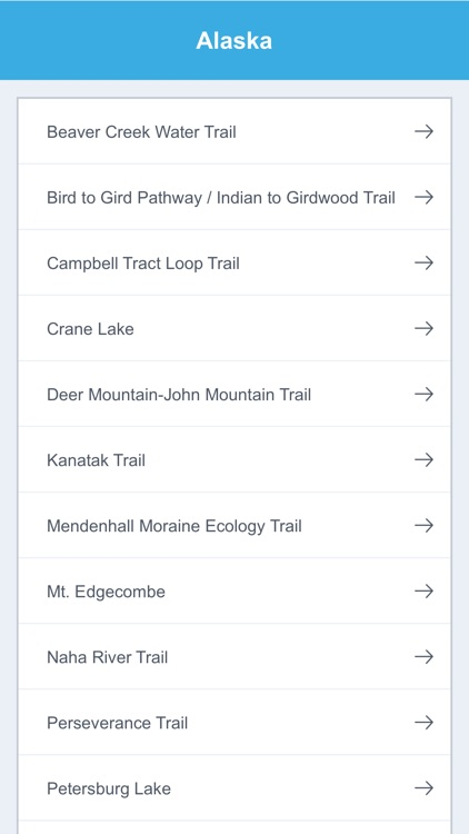 Alaska Recreation Trails