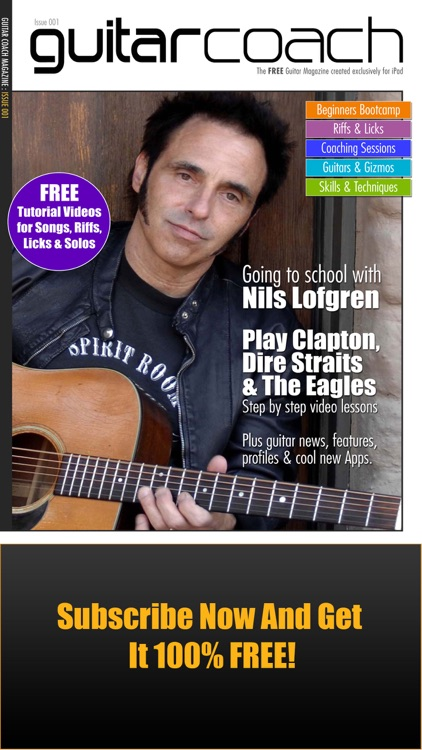 Guitar Coach Magazine. Learn & Play Guitar screenshot-0