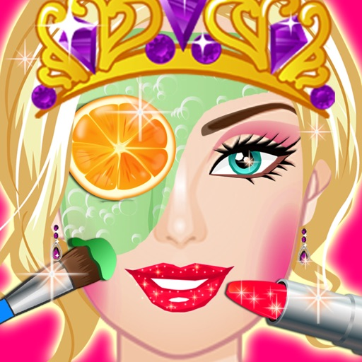 Princess Party Makeover ,Dressup ,spa free girls games. iOS App