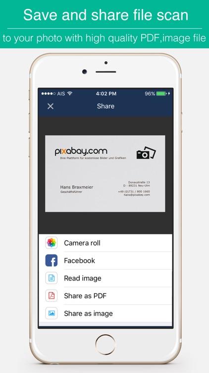 Biz Cards Scannable - Business Card Scanner Free & Receipt Organizer + OCR Scanning screenshot-3